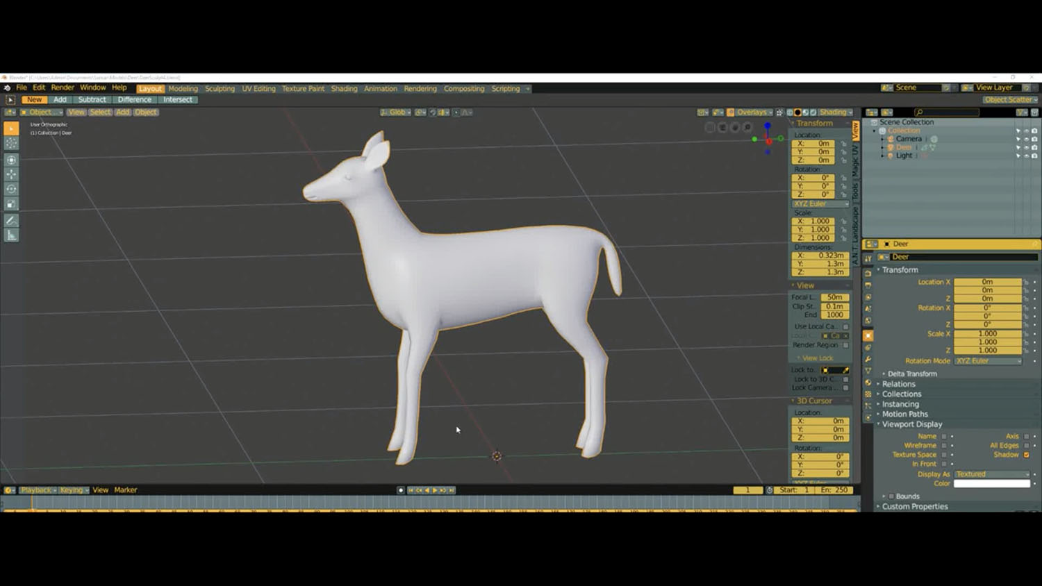 Creating a Rig for Sansar NPC's - PART 1